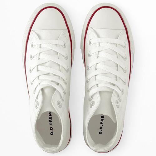 经典百搭高帮帆布鞋