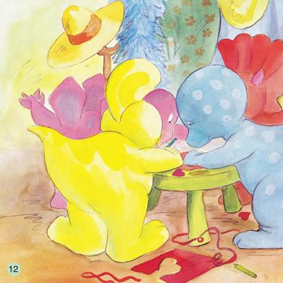 小恐龙幼儿园情商培养图画书.爱心卡片[当当]