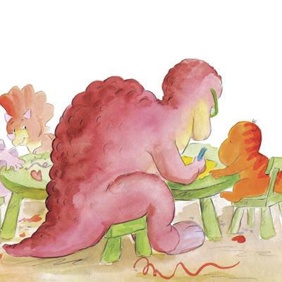 通过亲子共读这一系列图画书,孩子们一定会从书中这些可爱小恐龙的