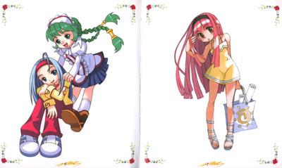 作者简介  王俊健,出版著作:《手绘美少女画法》,《可爱多卡通画法