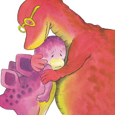 小恐龙幼儿园情商培养图画书.妈妈还不来/22621784
