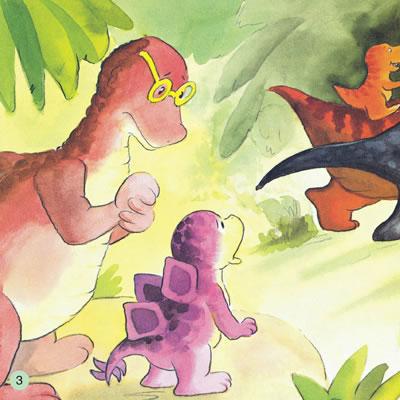 《小恐龙幼儿园情商培养图画书.妈妈还不来!
