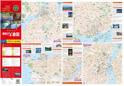 最新版出境目的地地图系列——加拿大旅游地图