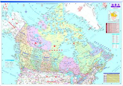 撕不烂防水耐折,国内首张标识有加拿大国家公路编号的地图,交通,旅游